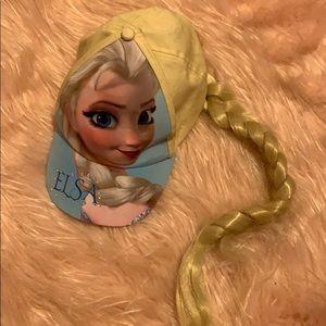 Disney frozen Elsa hat with braid